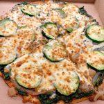 Pizza d'espinacs i carbassó l'Engruna Granollers