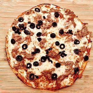 Pizza tonyina l'Engruna Granollers