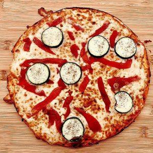 Pizza vegetal l'Engruna Granollers